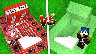 Minecraft ITA - PASSAGGIO SEGRETO DI TNT VS SLIME!!