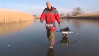 Ловля щуки на силикон зимой со льда