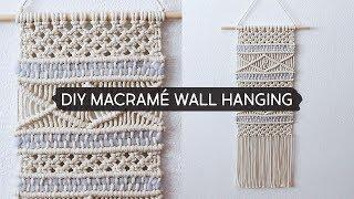 DIY Macramé Wall Hanging
