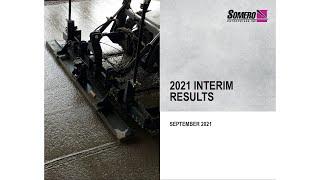 somero-enterprises-som-h1-results-september-21-21-09-2021