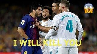 Sergio Ramos Vs Luis Suarez ● Rage, Fights, Angry Moments