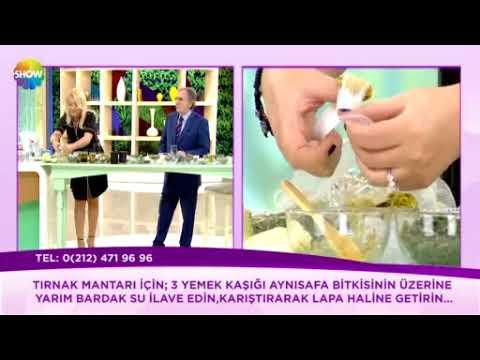 TIRNAK MANTARI İÇİN AYNI SAFA KÜRÜ ~ Şifaya vesile Saraçoğlu