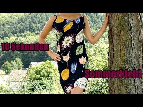 10 Sekunden Sommerkleid Tutorial by LinaDIY