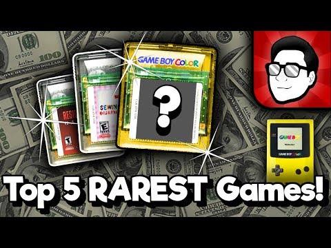 Top 5 RAREST Game Boy Color Games! | Nintendrew