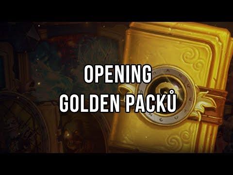 Opening Golden packů