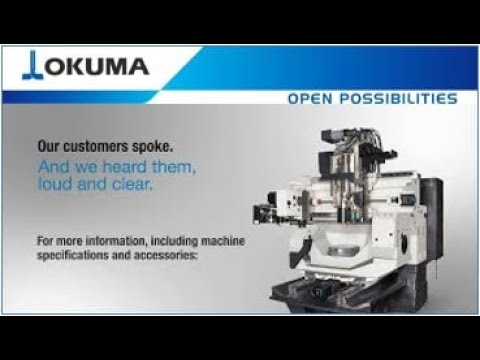 Okuma GENOS M460V-5AX Video Brochure