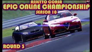 Assetto Corsa 10th ONLINE CHAMPIONSHIP - Round 3/5