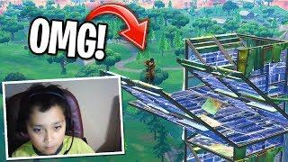 BUILD BATTLE AGAINST BEST 9 YEAR OLD KID ON FORTNITE... (Playground 1v1 Fortnite)