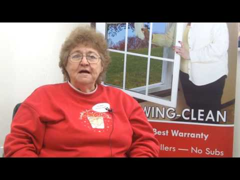 Thelma of Greensburg, PA describes her unbelievable experience with Energy Swing Windows when they installed a new sliding glass patio door for her and her husband.