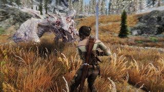 DRAGONS - Epic Combat Moments - Oldrim and SSE