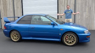 Here's Why the Subaru Impreza 22B Is the $100,000 Ultimate Subaru