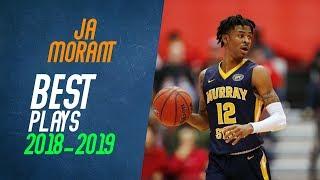 Ja Morant Best Plays from 2018-2019 NCAA Season