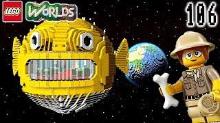 LEGO Ninjago Puffer Fish Restaurant - Let's Play LEGO Worlds: Episode 106