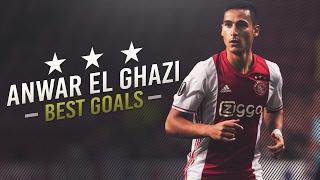 Anwar El Ghazi - Best Goals For AFC Ajax HD