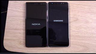 Nokia 7 Plus vs Samsung Galaxy A8 Plus - Speed Test!