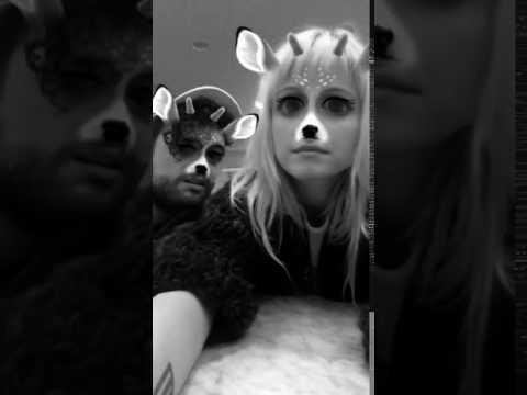 Hayley Williams y Taylor York  vía Snapchat yelyahsnaps 3 de diciembre 2016