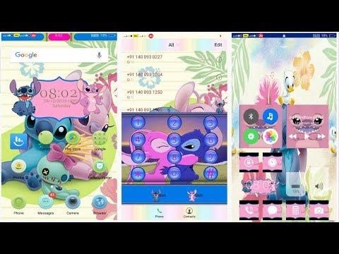 OPPO (ColorOS) theme Stitch iOS ! Any Realme ! A37 A57 A3S F7 All