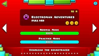 Geometry Dash lvl 10 [Electroman Adventures] (All-Coins) 2 1 - Most