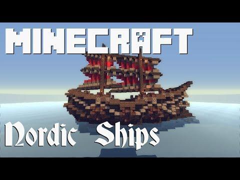 Nordic Ship Schematics Minecraft Project on small minecraft ship plans, small minecraft yacht tutorial, small minecraft village, small boats mod minecraft,