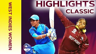 Final Ball Thriller Decided by ONE Run! | Classic Match Highlights | West Indies Women v India 2019