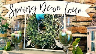 SPRING DECOR TOUR | SPRING & EASTER HOME DECOR | Cook Clean And Repeat