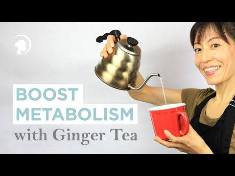 Make Ginger Tea - Clear Your System, Boost Your Metabolism http://faceyogamethod.com/