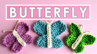 How to Knit a BUTTERFLY | Summer Knit Series