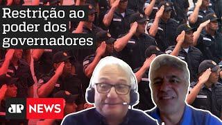 Quem tem razão? Major Olímpio e Luís Flávio Sapori debatem quem deve ter controle sobre as polícias