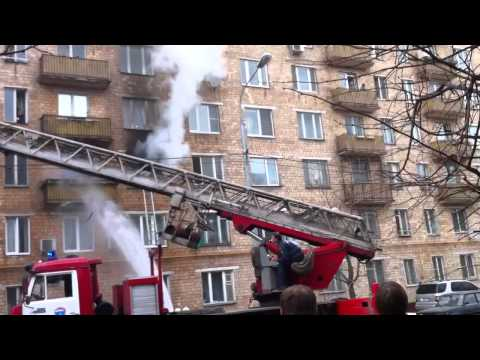 Пожар на улице Дружбы 20.04.2011