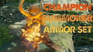 Champion Summoner Armor Set