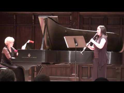 Brahms Clarinet Sonata in E-Flat Major, Op. 120, No. 2, mvts 2 and 3