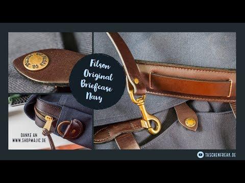 Filson Original Briefcase - eine geniale Notebook-(Office-)Tasche die auch als Fototasche taugt