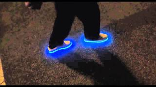 Chaussures Led, Sneakers Baskets Lumineuses Heart JacKing