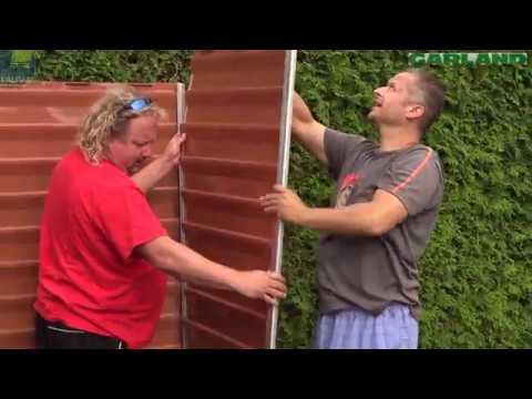Zahradní domek Palram zvládnete postavit sami
