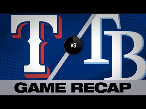 McKay's impressive debut leads Rays to win | Rangers-Rays Game Highlights 6/2919