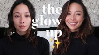 Clean Beautiful Flawless Skin in 5 Minutes   Vlogmas Day 17   Aja Dang