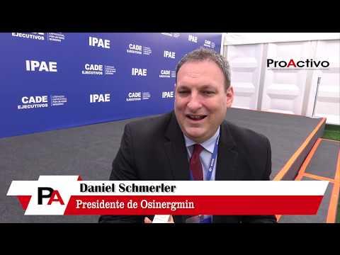 #CADE2018 - Entrevista a Daniel Schmerler, Presidente de Osinergmin