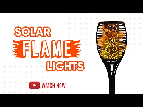 Refurbished Flickering Flame Solar Lights