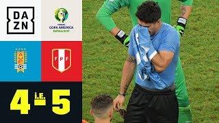 Luis Suarez Verschießt Entscheidenden Elfmeter: Uruguay - Peru 4:5 I.E. | Copa America | DAZN