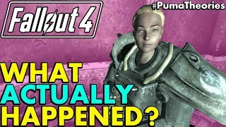 Fallout 4: What Actually Happened To Sarah Lyons From Fallout 3? (Lore And Theory) #PumaTheories