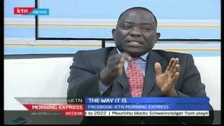 Morning Express - 31st October 2016 - The Way It Is - Discussion on Afya House Scandal