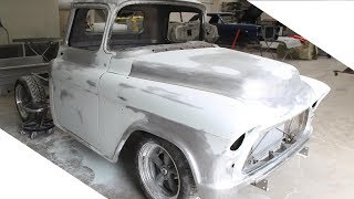 Car Restoration - 1955 Chevy Truck Restomod Project - Truck Restoration Time Lapse