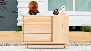 Designing And Building A Dresser - Woodworking Projects