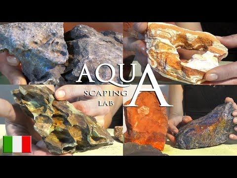 Aquascaping Lab - Rocce da Acquario: Dragon Stone,Seiryu Stone, Ardesia, Arcobaleno, Pagoda, Quarzo