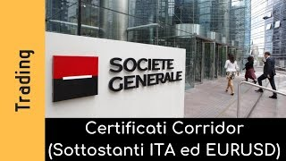 SG amplia la gamma dei certificati corridor