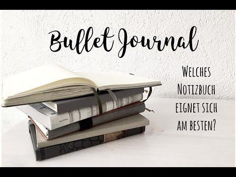 Bullet Journal Notizbücher im Vergleich | Welches eignet sich am besten? | deutsch | planenaufpapier