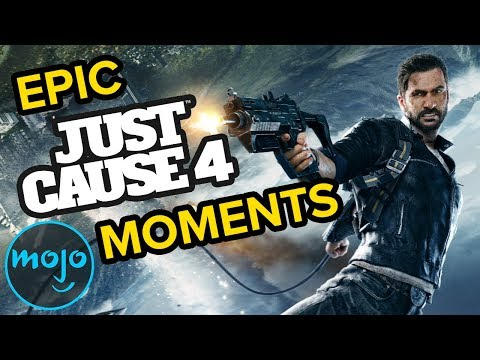 Top 10 Most Epic Just Cause 4 Moments