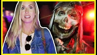 SCARY HAUNTED COSPLAY THEME PARK!