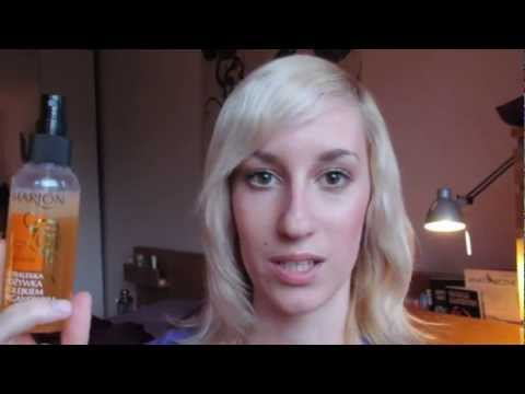 Odcień włosów olej