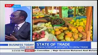 State of trade in the country